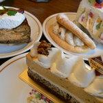 フレッシュグリーン - 料理写真:フレッシュグリーンのケーキたち