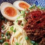 なかた屋 - 料理写真:汁なし担々麺(並)650円 麻~シビれる♪