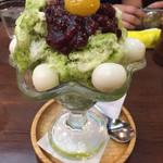 喫茶ドニエ - 抹茶カキ氷