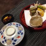 赤坂 あそび亭 - 御飯に揚げ物♬