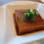 中国料理 「チャイナブルー」 - かぼちゃ餅