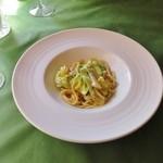 40112288 - 塩味のアンチョビと季節野菜のパスタ