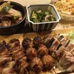 大須亭 - 安定の串物とおばん菜