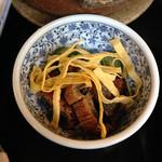 Mingeichayarokkyu - 鰻ざく〜ミニうなぎ飯と柳川鍋セット