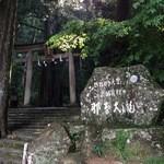 美山亭 - 台風の影響で那智大滝も混雑していませんでした。