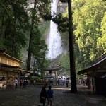 美山亭 - 那智大滝が見えてきました〜