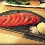 炉ばた 七福心 - トマトスライス 350円