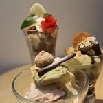 幸せのレシピ~スイート~ - パフェ三種