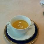 ムッシュサトー - 料理写真:とうもろこしの冷製スープ