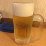 40123349 - ハムカツセット・550円                       <生ビール(単品)・450円>