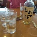 小田原城カントリー倶楽部 - なぜ?昼休みに焼酎のボトルが乱れ飛ぶ???