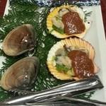 満潮 - 「牡蠣味噌焼き」