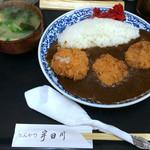 とんかつ宇田川 - カツカレーヒレ