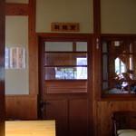 竹田の中華そば こっとん - 水車で製麺しています。