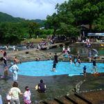 竹田の中華そば こっとん - 川原のプール、中島公園名水河川プール