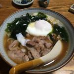 紀八 - 紀八ラーメン(醤油)500円