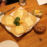ラ・カシータ - タコス (チーズ) (2015/07)