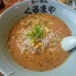 くるまや - 味噌ラーメン 600円(税込み)
