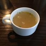 熟成肉 貸切 FORST6丁目 - スープ