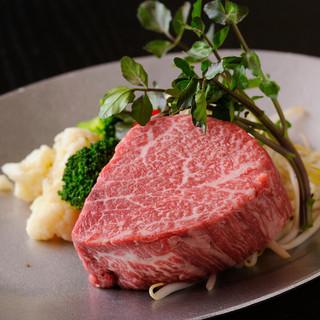和牛A5ランク牛肉を使用しています
