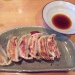 ラーメンゼロ - 黒豚餃子(450円)