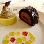 サロン・ド・テ ロザージュ - '10 モンブランとカイゼル 選べるケーキセット