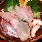 和風居酒屋 なぶら - なぶら @横須賀中央 地魚丼