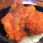 とんかつ政ちゃん - 料理写真:かつ丼アップ