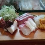 ふじ廣寿司 - 料理写真:刺身の図