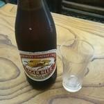 寿得広 - 中瓶ビール