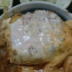 寿得広 - カツ丼セットのカツ丼