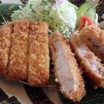 庄内 - 薩摩黒豚極上とろロースカツ2,250円