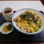 玉屋 - 天とじ丼(770円)