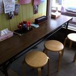 丸池製麺所 - 店内