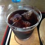 一枚岩鹿鳴館 - アイスコーヒー
