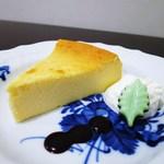 Cafe Kuromimi Lapin - 自家製チーズケーキ