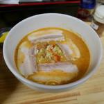 匹十 - チャーシュー坦々麺(ハーフ580円)