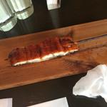 藤丸クラフト - 鰻串 350円すごい脂ののりです