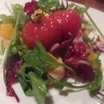 40135454 - トマトと帆立のマリネ