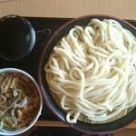 久兵衛屋 - 肉汁うどん(メガ盛り:1000g) つるりと完食