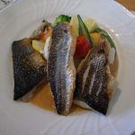 うさぎの小屋 - 3種の魚のグリエ。(ランチ)
