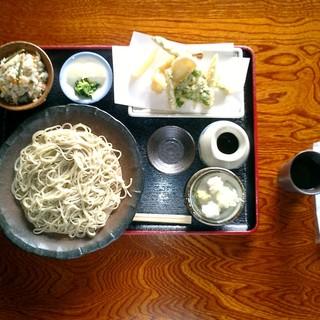 玄鹿 - 料理写真:蕎麦膳(舌代¥1.500-)