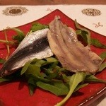 Hostaria Casa Bella - イワシの冷前菜
