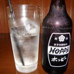 食処酒処いいおか - ホッピー (ザ・下町ドリンク)