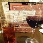 ヴィンテージ - 黒烏龍茶と赤ワイン