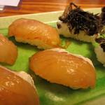 魚八亭 - 島寿司(しょうゆづけ)