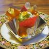 マロニエ - 料理写真:『にじいろジーン』で紹介されたというサバラン