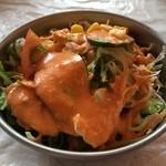 DEVI - サラダのボリュームも良いです!