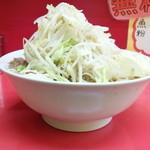 豚ラーメン - ラーメン+野菜ニンニク
