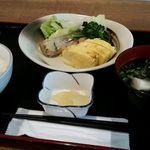 ごはん屋進 - 朝の定食(名前忘れた)